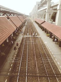 海外,駅,線路,旅行,タイ,鉄道,フィルム,海外旅行,Thailand,レール,フィルム写真,フィルムフォト