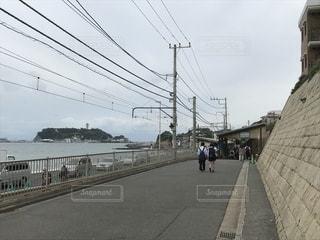 自然,海,屋外,緑,駅,島,景色,旅行,江ノ島