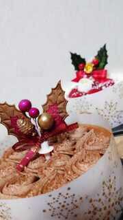 食べ物,飲み物,ケーキ,屋内,クリスマス,チョコレート,料理,出前,宅配,テイクアウト,デリバリー,お持ち帰り,クリスマス ツリー