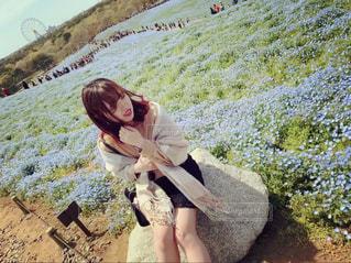 お花畑の写真・画像素材[2086758]