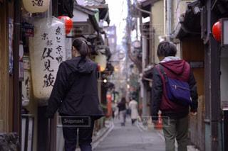 街並み,京都,渋い,河原町,都,京都の街並み,インスタ映え,雨の京都,懐かしい2人