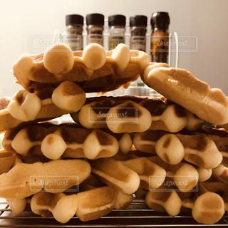 コーヒー,ワッフル,マグカップ,ベルギー,大量生産,直火焼き,ミルクティー色