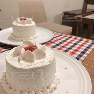 下北沢のかわいいシフォンケーキの写真・画像素材[2255062]