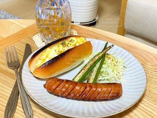 食べ物,朝食,テーブル,皿,おいしい,ソーセージ,ジョンソンウィル