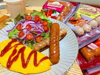 食べ物,朝食,野菜,サラダ,ソーセージ,ニンジン,ジョンソンヴィル,朝食用ソーセージ