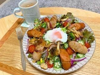 食べ物,食事,朝食,野菜,皿,サラダ,レストラン,ファストフード