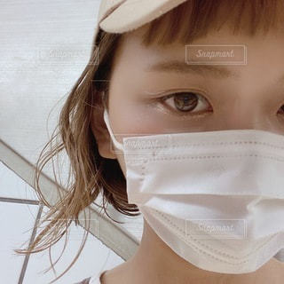 普通のマスクがいちばんの写真・画像素材[3604084]