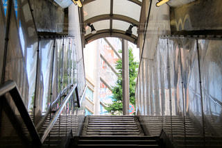 階段を上ったら。の写真・画像素材[2160090]