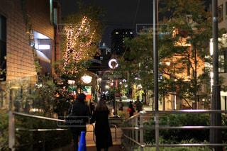 表参道の夜の写真・画像素材[2393085]