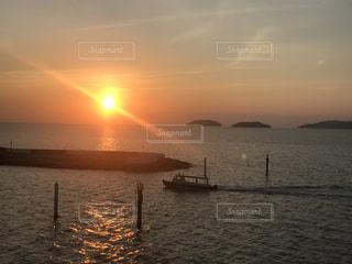 夕日の写真・画像素材[3483407]