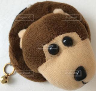 猿,動物,茶色,動物園,ブラウン,アニマル,立体,財布,申,サル,さる,お財布,おさる,お猿さん,小銭入れ,ミニ財布