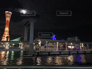 月も仲間の写真・画像素材[2012085]