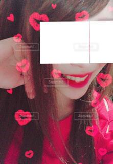 おしゃれなリップフォト♡の写真・画像素材[2875020]