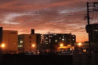 夕景の写真・画像素材[3400867]