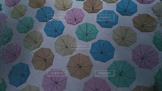 風景,空,雨,傘,屋外,カラフル,色