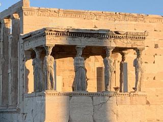 空,建物,太陽,世界遺産,光,ギリシャ,古代,パルテノン,考古学