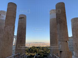 空,太陽,世界遺産,光,遺跡,ギリシャ,アテネ,アクロポリス