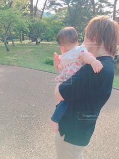 公園,赤ちゃん,パパ