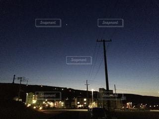 「最北の一番星」の写真・画像素材[3371568]