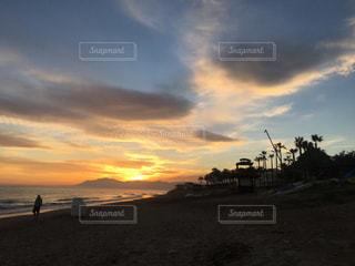 地中海の空と雲の写真・画像素材[1947032]