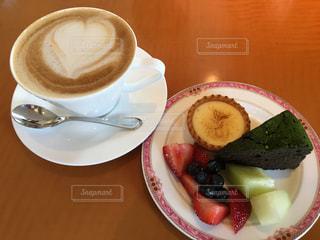 スイーツ,ケーキ,コーヒー,茶色,デザート,フルーツ,カップ,ミルクティー色