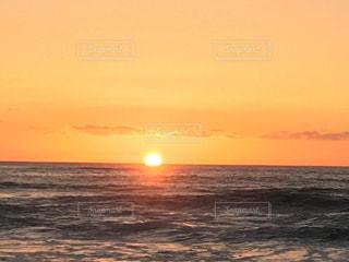 風景,海,空,夕日,ビーチ,夕暮れ,茶色,観光,サンセット,ミルクティー色