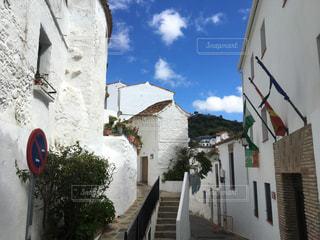 白い村 カサレスの写真・画像素材[2159120]