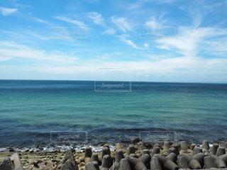 淡路島の海と空の写真・画像素材[2004575]