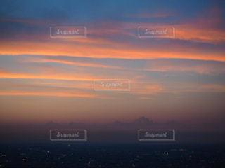 夕焼けの写真・画像素材[2004670]