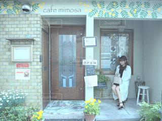 春コーデ♡の写真・画像素材[2030585]