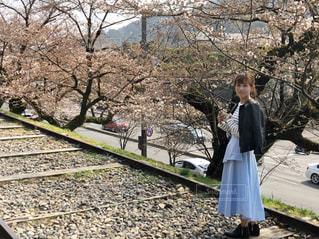 春コーデの写真・画像素材[2030977]