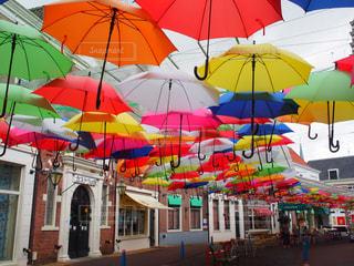 傘,屋外,カラフル,長崎,ハウステンボス,カラフル傘