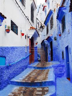 青の街の写真・画像素材[2232267]