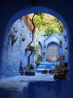 モロッコ シャウエンの美しさの写真・画像素材[4726770]