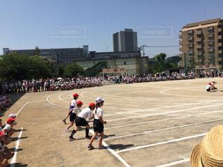 運動会,徒競走,スタート,よーいドン