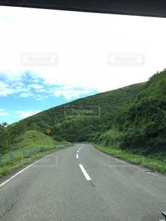 北海道の道路の写真・画像素材[1977450]
