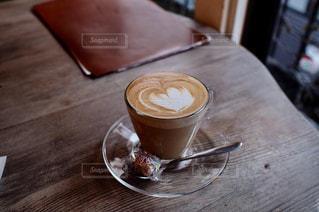 カフェ,コーヒー,茶色,ハート,珈琲,ラテアート,喫茶店,ベージュ,ミルクティー,カフェ巡り,ミルクティー色