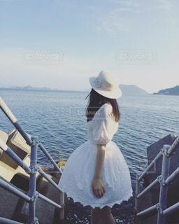 瀬戸内海の風を感じての写真・画像素材[2110163]