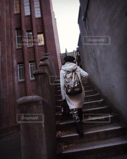 レトロな階段の写真・画像素材[2146902]