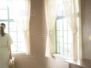 優しい光を纏っての写真・画像素材[2172742]
