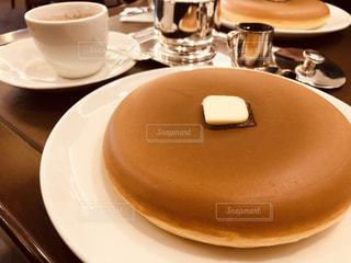 シンプルパンケーキの写真・画像素材[2279396]