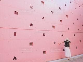 おしゃれな壁との写真・画像素材[2313464]