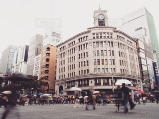 建物,屋外,街,レトロ,都会,人物,銀座,ナチュラル,フィルム,雨の日,フィルム写真,フィルム調,フィルムフォト