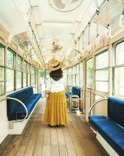 レトロ列車に揺られての写真・画像素材[2776434]