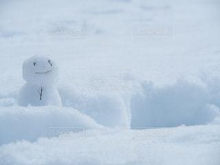 雪だるまの写真・画像素材[2808551]