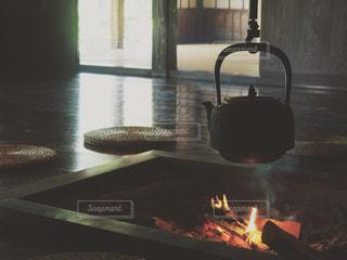 囲炉裏の写真・画像素材[2826677]
