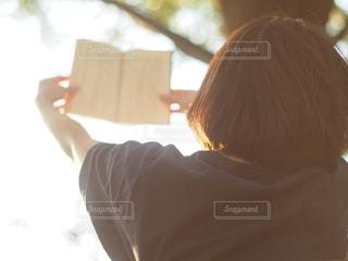読書大好きの写真・画像素材[2893224]