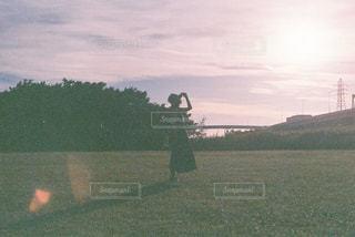 いつかの夕暮れの写真・画像素材[2944623]