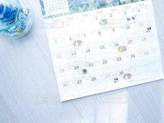 カレンダーの写真・画像素材[3024280]