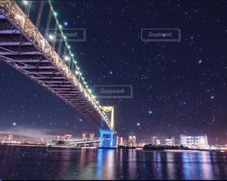 都会の星空の写真・画像素材[3371865]